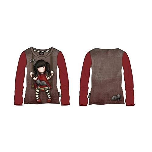 Santoro Gorjuss - Camiseta de tirantes - para niña multicolor 10 años