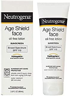 Neutrogena Age Shield Face Sunblock Lotion SPF 110 3 fl oz (88 ml)