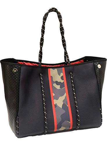 Premium Multipurpose Neoprene Tote | Waterproof with Removable Hard Bottom Liner & Pouch