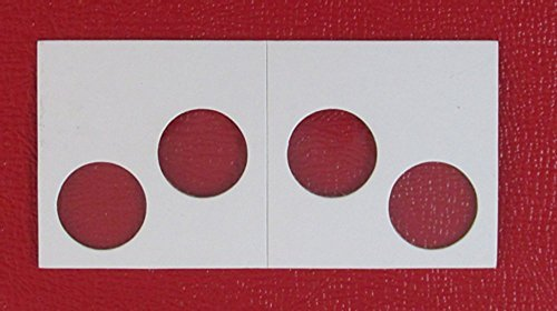 Guardhouse 2 Hole Penny Paper Mylar Coin Flips 2×2 100 Pack