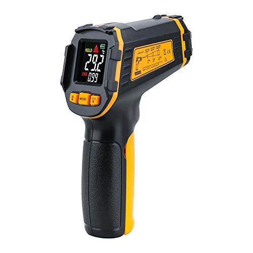 N/X Digitales Infrarot-Thermometer Laser berührungsloses Pyrometer Imager Hygrometer Infrarot Kalorimeter Farbe LCD-Licht