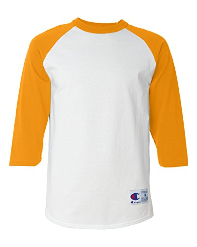 Champion Herren Raglan Baseball T-Shirt - - 3X-Groß