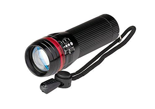 Poly Pool pp3153 torche LED 3 W alu mini portable de poche luminosité 80 lm IP44 avec feu réglable 3 modes d'éclairage