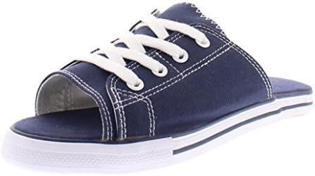 Ace Lace Up Sandals for Women,Athletic Slide Sandals,Canvas Shoe