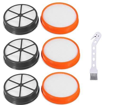 Artraise 3 Pack Type 90 Filters Kit for Vax Replacement Filters Premium Pre & Post Motor HEPA filter Set for Vax Vacuum Filter Kit Mach Air Upright Vacuum Cleaners