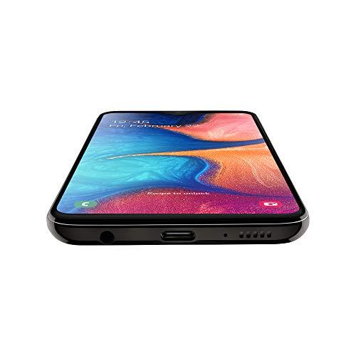 Samsung Galaxy A20e 5,8 ', ?cran 32 GB extensible, 3 GB de RAM, Batterie 3000 mAh, 4G, smartphone double carte SIM, Android 9 Pie, (2019) [version italienne], noir