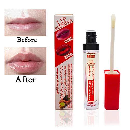 Cocohot Lippenpraller Lipgloss Lip Extreme Lip Plumper lang anhaltende feuchtigkeitsspendende Lip Cosmetics (A1)