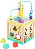 Small Foot 10812 Cube d´activité avec l'élephant 'Die Maus', avec circuit de motricité démontable, à partir de 1 an