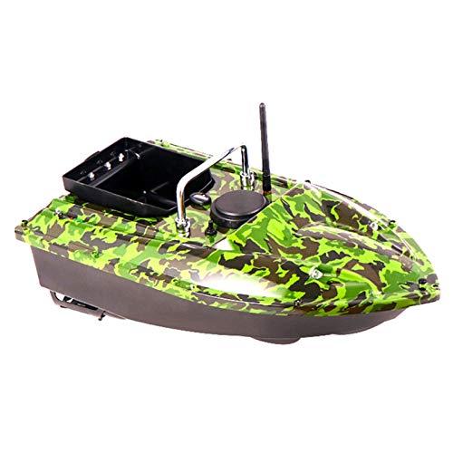 DYJD 500M Wireless Smart RC Bait Boat Auto Cruise 1.5k Cargar Pesca Nido Barco Alimentación Entrega Cargando Bait Boat Fish Finder Speedboat,Camuflaje