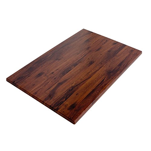 Werzalit / hochwertige Tischplatte/Eiche antik/Rechteckig 110/70 cm/Bistrotisch/Bistrotische/Gartentisch/Gastronomie