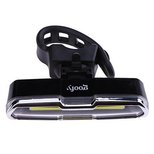Luz de bicicleta Gowind6 portátil recargable LED USB bicicleta de montaña MTB seguridad bicicleta luz trasera