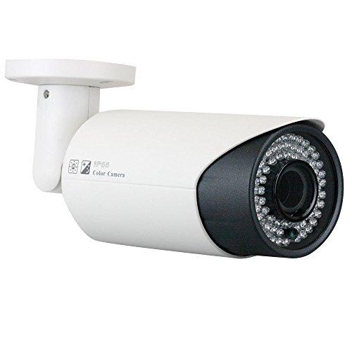 BW Cámara de seguridad al aire libre impermeable de la bala de la visión nocturna del IR - 1200TVL Sony CMOS 2.8~12m m Varifocal zoom lente