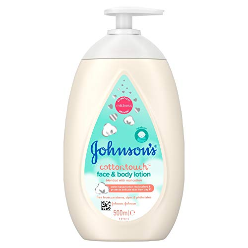 Johnson's Baby Cotton Touch Loción facial y corporal - 500 ml