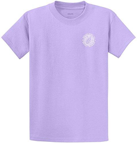 Koloa Surf.-2 Side Honu Hawaiian Turtle T-Shirt-Lavender/w-L