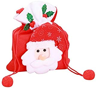 Best Design Christmas Handbag Gift Holders Candy Sweet Treat Bags Tree Ornament, Large Candy Holder - Small Christmas Bags, Christmas Drawstring Bag, Christmas Gift Card Holder, Gift Stocking Holder