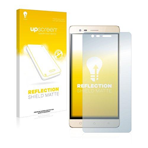 upscreen Entspiegelungs-Schutzfolie kompatibel mit LG K5 Note – Anti-Reflex Bildschirmschutz-Folie Matt