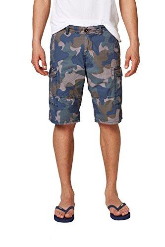 edc by ESPRIT Herren 048CC2C015 Shorts, Blau (Navy 400), 50 (Herstellergröße: 32)
