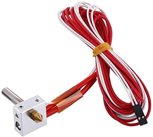Assembled Extruder Hot End kit 0.4mm Nozzle 3D Printer Aluminum Heating Block Accessories