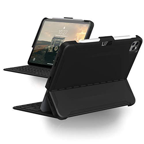 Urban Armor Gear Scout Sleeve para Apple iPad Pro 12.9'' (2020 & 2018) de acuerdo con el estándar militar [4. & 3. generación, requiere Apple Smart Keyboard Folio, portabolígrafos] - n