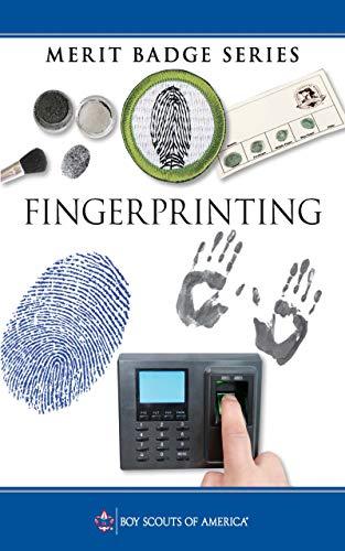 Fingerprinting Merit Badge Pamphlet