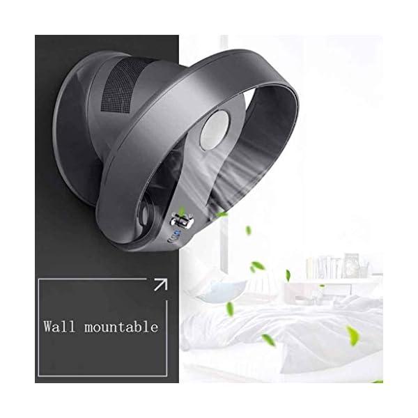 Ventilador-sin-aspasVentilador-de-silenciamiento-elctrico-con-Control-RemotoSin-Blade-Potente-Ventilador-de-Pared-de-Viento-SuaveDesktop-Tower-Fan-con-Modo-de-3-velocidades-y-Modo-de-Giro