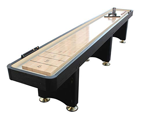 Playcraft Woodbridge 9' Black Shuffleboard Table