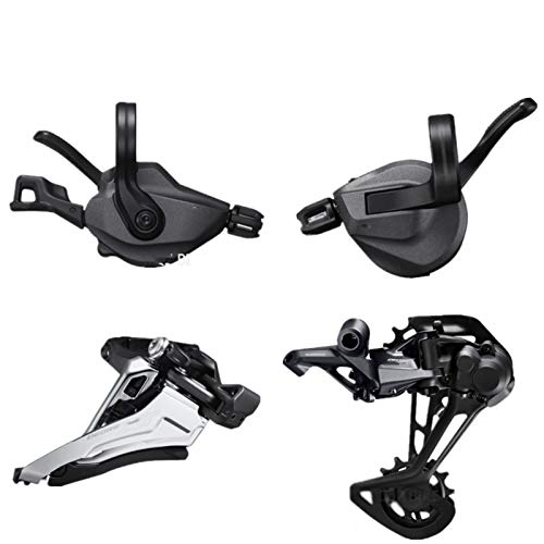 TSAUTOP Newest DEO-RE XT M8100 Groupset Mountain Bike Detset 2x12 Speed ​​24 Speed ​​45t 51t M8100 Shift Trasero Desperilleur M8100 Shifter para shi-ma-no (Color : SL FD RD M8100)