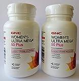 gnc women's ultra mega 50 plus 120 caplets - new formula by gnc
