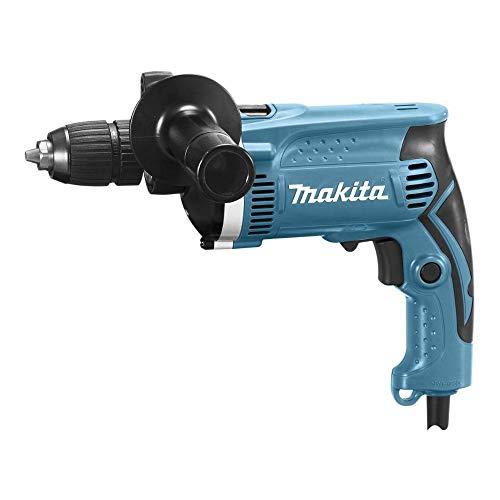 Makita HP1631 Trapano Elettrico a Percussione, Mandrino Autoserrante 710W, 16 mm