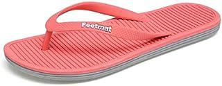 017 Pink, 9.5 : Big Size 36-45 Men Sandals New Brand Flip Flops Men Beach Slippers for Women Summer Shoes Flat Sandals Men Flip Flops 2017