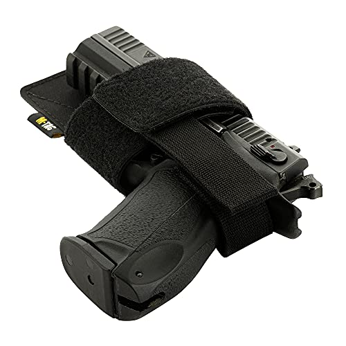 M-Tac Concealed Carry Holster - Gun Holster for Bag Backpack or Vest - CCW Holsters for Pistols with Fix (Black)