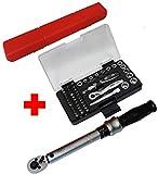 Famex Werkzeuge 10875 Sparset mit FAMEX 594-38 Drehmomentschlüssel Steckschlüssel