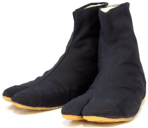 Ninja Tabi Shoes Low Top Comfort-Cushioned ! Black Rikio JikaTabi (JP 28cm approx. US Men size 10) (japan import)