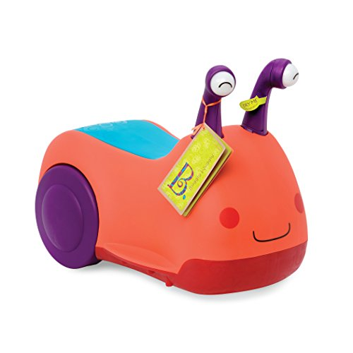 B toys – Buggly Wuggly Ride with Lights and Sounds – BPA Free Toys – Kids Ride-On Toys with Storage for Toddlers and Babies 12m+
