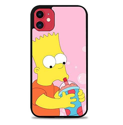 nlianfeng TPU Silicone Phone Case for iPhone 7/8 / iPhone SE(2020) - [The Simpsons,Logo-1,7/8/8/SE] - Handyhülle,Schutzhülle,Coque,Custodia,Carcasa de Silicona,Mobile Cell Phone Case