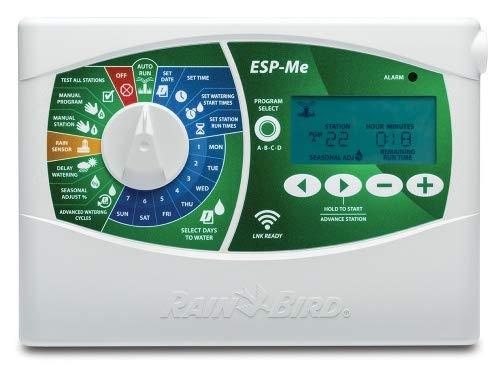 Rain Bird Rainbird Steuergerät Typ ESP-Me Basismodul/Controller (4 Stationen) Ordenador de riego, Gris, 11 x 27.5 x 19.5 cm