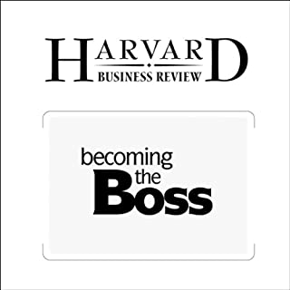 Becoming The Boss (Harvard Business Review) cover art