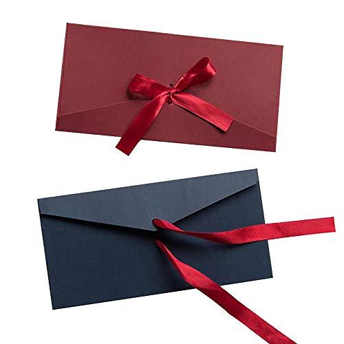 20個セット カラー封筒カスタムハイエンド小型封筒真珠紙ブロンズ印刷クラフト招待ポストカード 封筒