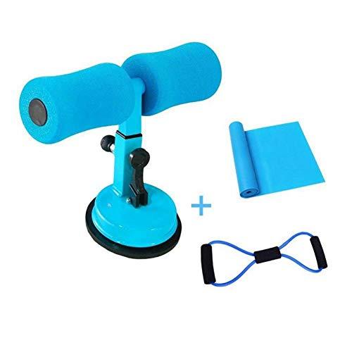 sgfd Portable Sit-Suction Asp Bar Réglable Sit Up Equipment Helper équipement de Fitness, Idéal pour Push Ups, Sit Ups, Muscle Traini