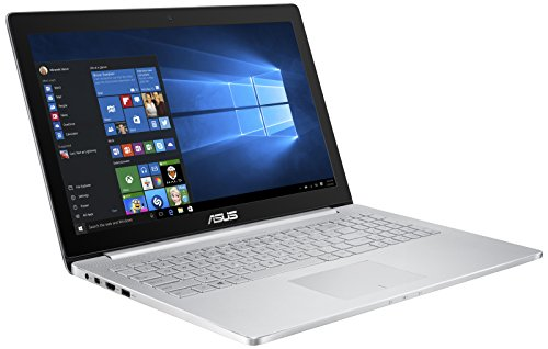 Asus Zenbook UX501VW-FY062T 39,6 cm (15,6 Zoll, non glare Full HD) Laptops (Intel Core i7 6700HQ 2.6GHz, 16GB RAM, 256GB SSD, GTX 960M 4GB , Windows 10 Home) grau