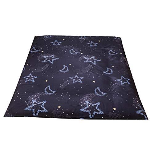 perfk Tatami Boden Klappmatratze Tagesdecke, Japanische Tatami Dicke Schutzhülle - Sterne