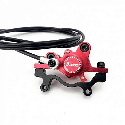 Mada - Freno de disco hidráulico delantero y trasero para bicicleta eléctrica...