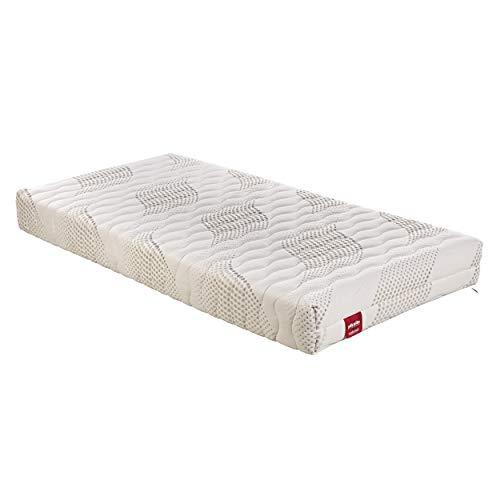 PIKOLIN – Colchón ART18 Nova (Viscoelástica + espumación - Compatible con somieres articulados/Viscofoam Mattress - Compatible with Articulated Bed Bases) 75x190 cm