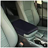 Timorn Car Center Console Cover: Memory Foam Armrest Cushion & Arm Rest Protector & Middle Organizer Black Elbow Pillow & Seat Central Box Lid Pad & Universal Interior Accessory for Truck | Auto | SUV