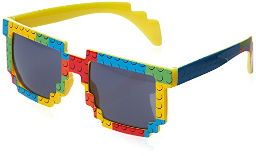 Pixel Party Designs Brick-Theme Sunglasses for Lego-Loving Kids, Build in Style!