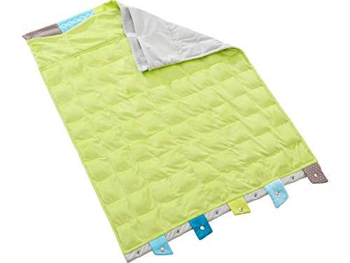 """HABA 164.037 Lernspielzeug """"Vario"""" Weighted Decke mit Snap-Buttons, Behinderung, für Kinder"""