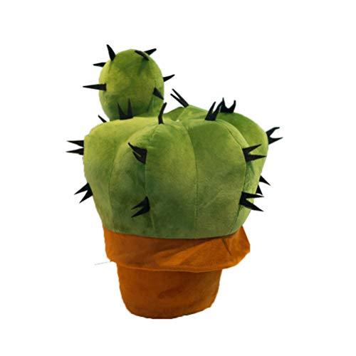 Toyvian Kaktus Dekor Kaktus Desktop für Büro Stofftiere Foto Requisiten Kaktus für Heimtextilien Büro