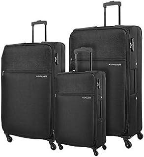 حقيبة سفر بعجلات للجنسين امريكان تورستر من كاميلينت - 3 قطع - باللون الاسود