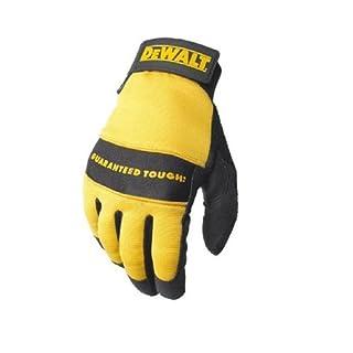 Dewalt DPG20L All Purpose Synthetic Leather Palm Spandex Back Velcro Wrist Work Glove, Large (B000FPAS2K)   Amazon price tracker / tracking, Amazon price history charts, Amazon price watches, Amazon price drop alerts
