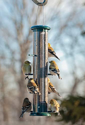 Audubon NATUBE9 15 Audubon 8 Port Thistle Tube Finch Birdfeeder